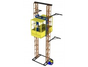 Двухмачтовый подъемник для строительных работ (ПМГ)