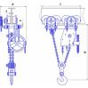 Таль ручная червячная с механизмом передвижения (ТРЧМП) - 3