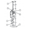 Реечный домкрат Able HVP - 3
