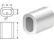 Втулки алюминиевые DIN 3093
