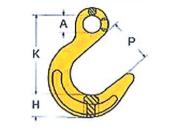 Крюк литейный  8 кл. ABL