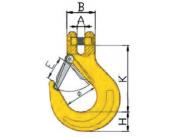 Крюк вилочного соединения с предохранителем 8 кл. ABL