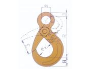 Самозащелкивающийся крюк  8 кл. ABL