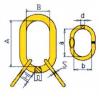 Звено с дополнительными звеньями для 3– и 4–ветвевых строп - 1