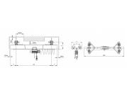 Подвесной мостовой кран грузоподъемностью 1 тонна