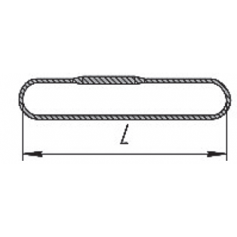 Строп канатный кольцевой СКК