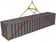 Траверсы для контейнеров ТрК8