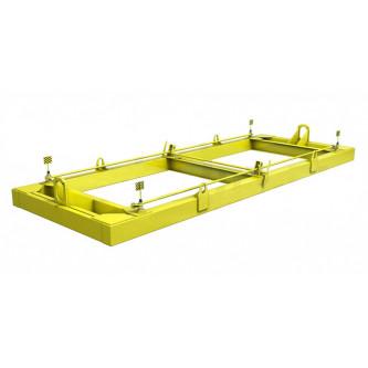 Траверсы для контейнеров ТрК4 (для подъема контейнера двумя кранами)