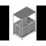Фасадные подъемники (строительные люльки)